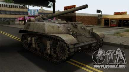 T57 Self Propelled Gun para GTA San Andreas