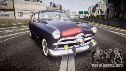 Ford Custom Tudor 1949 v2.2 para GTA 4