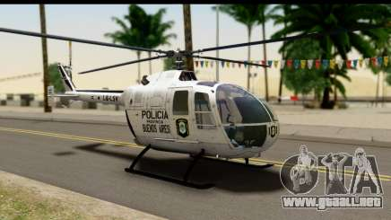MBB Bo-105 Argentine Police para GTA San Andreas
