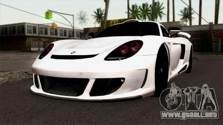 Gemballa Mirage GT v2 Windows Up para GTA San Andreas