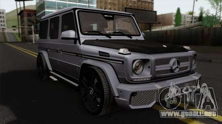 Mercedes-Benz G65 AMG Carbon Edition para GTA San Andreas