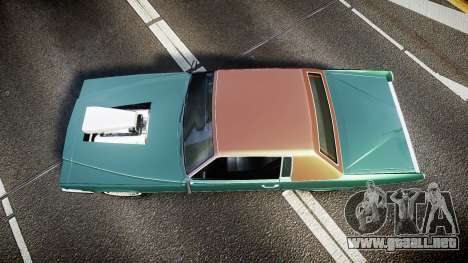 Albany Manana GTA V Style para GTA 4 visión correcta