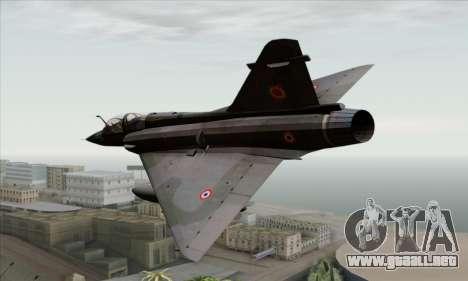 Dassault Mirage 2000-N SAM para GTA San Andreas left