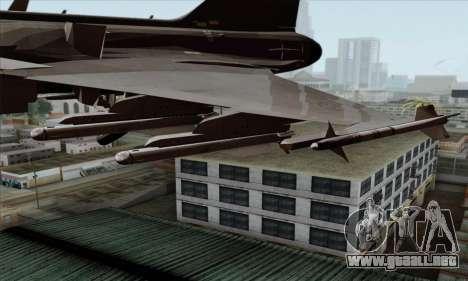 JAS-39 Gripen NG ACAH para la visión correcta GTA San Andreas