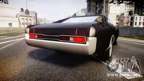 Imponte Dukes Fast and Furious Style para GTA 4 Vista posterior izquierda
