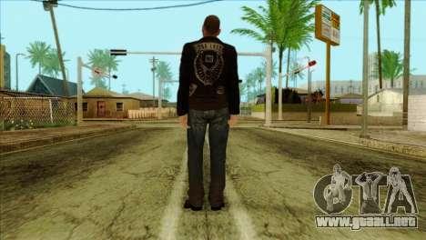 Johnny from GTA 5 para GTA San Andreas segunda pantalla