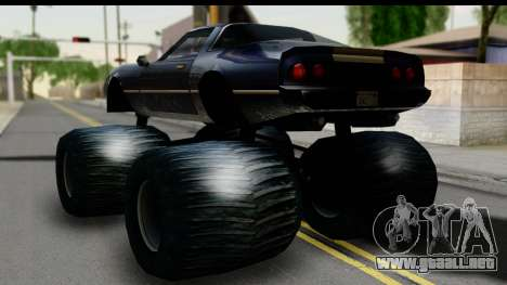 Monster Phoenix para GTA San Andreas left
