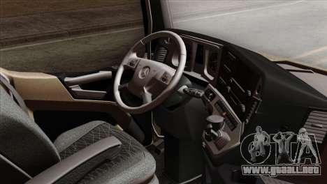 Mercedes-Benz Actros MP4 Euro 6 para la visión correcta GTA San Andreas