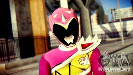 Power Rangers Kyoryu Pink Skin para GTA San Andreas tercera pantalla