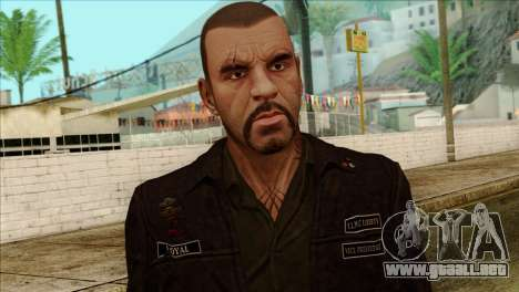 Johnny from GTA 5 para GTA San Andreas tercera pantalla