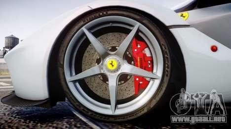 Ferrari LaFerrari 2013 HQ [EPM] para GTA 4 vista hacia atrás