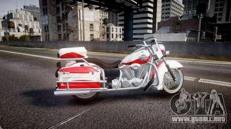GTA V Western Motorcycle Company Sovereign POL para GTA 4 left