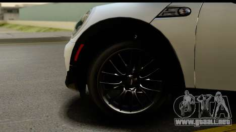 Mini Cooper Clubman 2011 para GTA San Andreas vista hacia atrás
