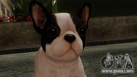 French Bulldog para GTA San Andreas tercera pantalla