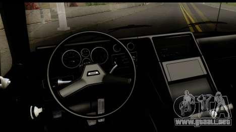 GMC Vandura G-1500 Payday 2 para visión interna GTA San Andreas