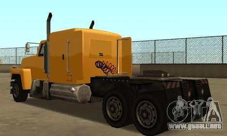 PS2 Tanker para la visión correcta GTA San Andreas