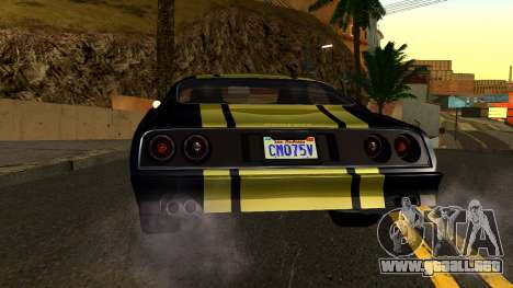 GTA 5 Imponte Phoenix IVF para vista lateral GTA San Andreas