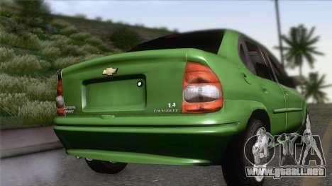 Chevrolet Corsa Classic 2009 para GTA San Andreas left