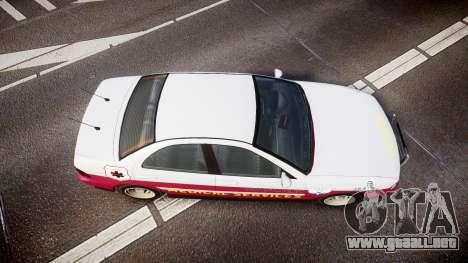 Dinka Chavos Paramedic para GTA 4 visión correcta
