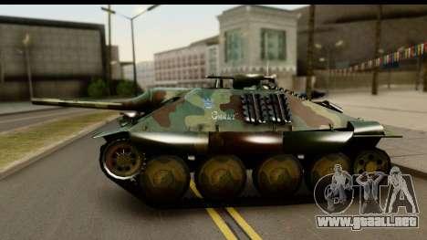Jagdpanzer 38(t) Hetzer Chwat para la visión correcta GTA San Andreas