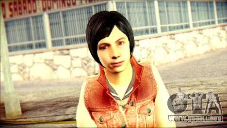 Sofia Child Skin para GTA San Andreas tercera pantalla
