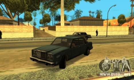 Beta VC Greenwood para vista lateral GTA San Andreas