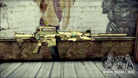M4A1 Transformer CrossFire para GTA San Andreas