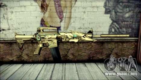 M4A1 Transformer CrossFire para GTA San Andreas
