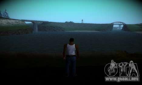 Ebin 7 ENB para GTA San Andreas segunda pantalla