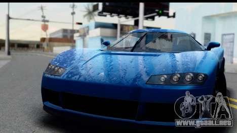 GTA 5 Overflod Entity XF IVF para GTA San Andreas vista posterior izquierda