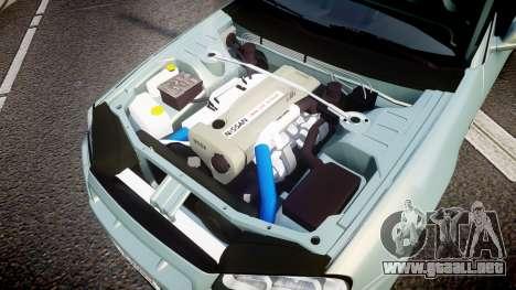 Nissan Skyline R34 GT-R M-Spec Nur para GTA 4 vista interior