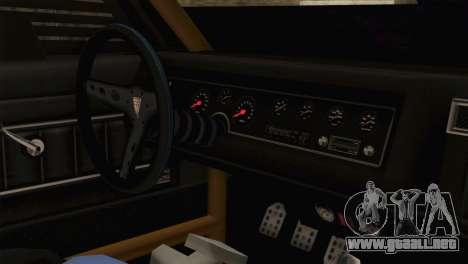 GTA 5 Imponte Dukes ODeath HQLM para la visión correcta GTA San Andreas