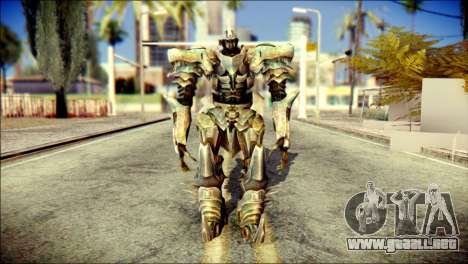 Grimlock Skin from Transformers para GTA San Andreas
