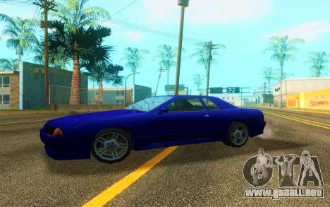 Elegy WorldDrift v1 para GTA San Andreas vista posterior izquierda