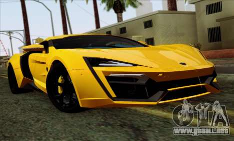 Lykan Hypersport 2014 Livery Pack 2 para GTA San Andreas