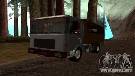 Roman Bus Edition para GTA San Andreas