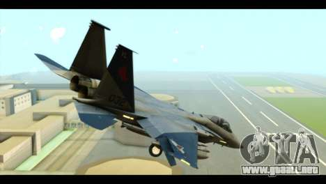 F-15C Eagle para GTA San Andreas left