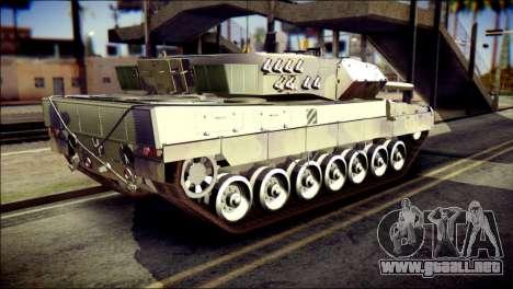 Leopard 2A6 PJ para GTA San Andreas left