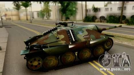 Jagdpanzer 38(t) Hetzer Chwat para GTA San Andreas left