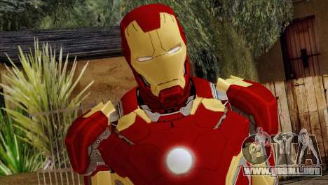 Iron Man Mark 43 Svengers 2 para GTA San Andreas tercera pantalla