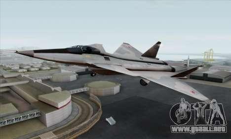 MIG 1.44 Flatpack Russian Air Force para GTA San Andreas