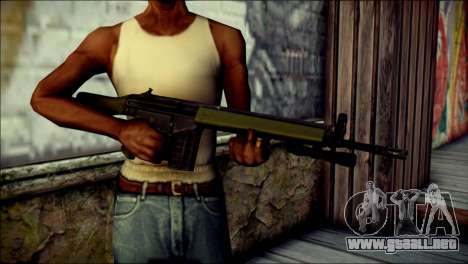 HK G3 Flashlight para GTA San Andreas tercera pantalla