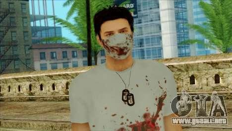 ER Alex Shepherd Skin without Flashlight para GTA San Andreas tercera pantalla