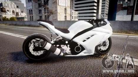 Kawasaki Ninja 250R Tuning para GTA 4 left