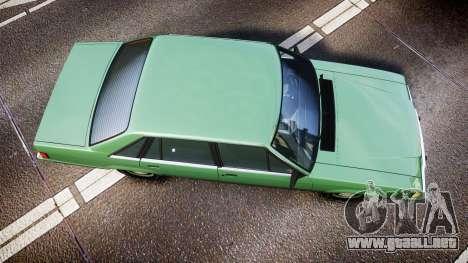 Ford LTD LX 1985 v1.6 para GTA 4 visión correcta