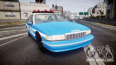 Chevrolet Caprice 1993 LCPD Without Hubcabs ELS para GTA 4