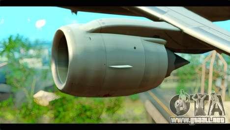 Embraer 190 Lion Air para la visión correcta GTA San Andreas