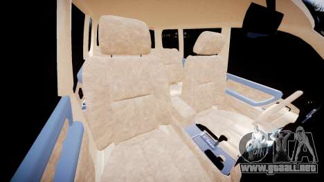 Toyota Land Cruiser 100 UEP [ELS] para GTA 4 vista interior