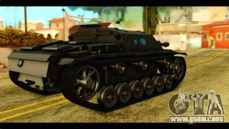 StuG III Ausf. G Girls und Panzer para GTA San Andreas left