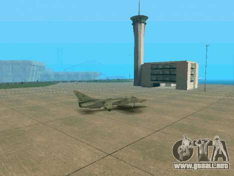 SU 24MR para vista inferior GTA San Andreas